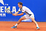 24th April 2019, Real Club de Tenis, Barcelona, Spain; ATP 500, Barcelona Open Banc Sabadell, day 3; picture show Albert Ramos (ESP) vs DAniil Medvedev (RUS)