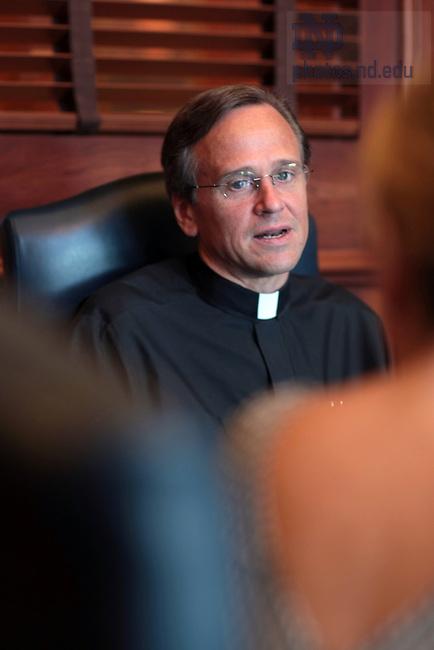 Rev. John Jenkins, C.S.C., president of the University of Notre Dame