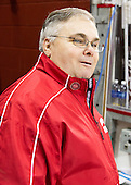 Joe Conceicao (BU - Rink Manager) - The Boston College Eagles defeated the visiting Boston University Terriers 5-2 on Saturday, December 1, 2012, at Kelley Rink in Conte Forum in Chestnut Hill, Massachusetts.
