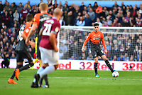 Cian Harries of Swansea City in action during the Sky Bet Championship match between Aston Villa and Swansea City at Villa Park in Birmingham, England, UK.  Saturday 20 October  2018