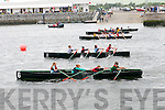 The start of the U14 race during the Dingle Regatta on Saturday afternoon.