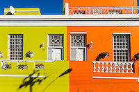Bo-Kaap, the colourful Malay quarter in Cape Town, South Africa.