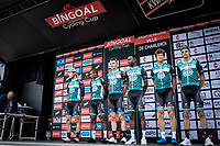 Team Vital-B&Bhotels pre race team presentation<br /> <br /> Circuit de Wallonie 2019<br /> One Day Race: Charleroi – Charleroi 192.2km (UCI 1.1.)<br /> Bingoal Cycling Cup 2019