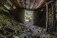 An old dugout in the Boxley Valley area on the Buffalo National River in Arkansas.