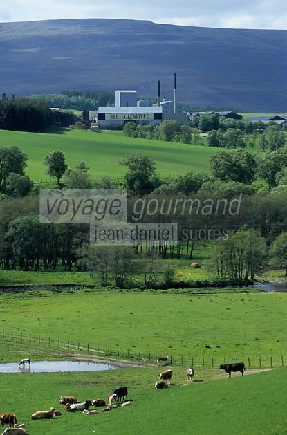 """Europe/Grande-Bretagne/Ecosse/Moray/Speyside/Dufftown : Distillerie """"The Glenlivet"""""""