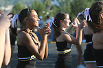 Palos Verdes, CA 10/28/11 - Song and Cheer in action during the Mira Costa - Peninsula varsity football game.