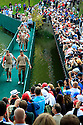 Martin Kaymer of Team Europe on the bridge on 17  during practice thursday of the 39th Ryder Cup matches, Medinah Country Club, Chicago, Illinois, USA.  28-30 September 2012 (Picture Credit / Phil Inglis)
