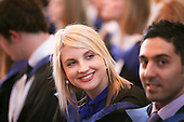 New graduates at the Graduation Ceremony, University of Surrey.