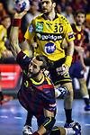 2014-04-26-FC Barcelona vs Rhein Neckar Lowen: 31-24.