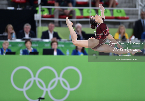 Vanessa Ferrari (ITA). Womens individual floor exercise. Artistic Gymnastics. Rio Olympic arena. Olympic Park. Rio de Janeiro. Brazil. 16/08/2016. ~ MANDATORY CREDIT Garry Bowden/SIPPA - NO UNAUTHORISED USE - +44 7837 394578