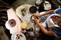 Kinich Restaurant. Izamal,Yucatan, Mexico