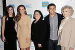 LOS ANGELES - DEC 4: Hailee Steinfeld, Hilary Swank, Judy Swank, Fred Savage, June Lockhart at The Actors Fund's Looking Ahead Awards at the Taglyan Complex on December 4, 2014 in Los Angeles, California