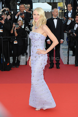 Naomi Watts at &quot;Cafe Society&quot; &amp; Opening Gala arrivals - The 69th Annual Cannes Film Festival, France on May 11, 2016.<br /> CAP/LAF<br /> &copy;Lafitte/Capital Pictures /MediaPunch ***NORTH AND SOUTH AMERICAN SALES ONLY***