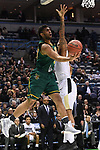 MILWAUKEE, WI - MARCH 16:  Vermont Catamounts forward Anthony Lamb (3) goes for an underhand layup during the first half of the 2017 NCAA Men's Basketball Tournament held at BMO Harris Bradley Center on March 16, 2017 in Milwaukee, Wisconsin. (Photo by Jamie Schwaberow/NCAA Photos via Getty Images)
