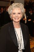 Washington, DC - May 1, 2004 -- June Lockhart arrives for the 2004 White House Correspondents Association Dinner in Washington, D.C. on May 1, 2004..Credit: Ron Sachs / CNP.(RESTRICTION: No New York Metro or other Newspapers within a 75 mile radius of New York City)