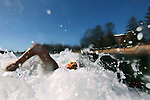 Terrigal Beach ocean swim is part of the oldest surf life saving club on the central coast of New South Wales,  Saturday 20th November 2010. Photo Steve Christo