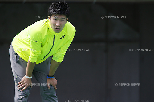 Yoshihide Kiryu, APRIL 18, 2015 - Athletics : The 49th Mikio Oda Memorial athletic meet JAAF Track & Field Grand Prix Rd.1 Men's 200m heat at Edion Stadium, Hiroshima, Japan. (Photo by Yusuke Nakanishi/AFLO SPORT) [1090]