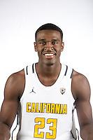 BERKELEY, CA- September 23, 2016: Cal Bears Men's Basketball Portraits.