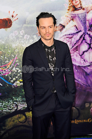 LONDON, ENGLAND - MAY 10: Andrew Scott attending the 'Alice Through The Looking Glass' European Premiere at Odeon Cinema, Leicester Square in London. on May 10, 2016 in London, England.<br /> CAP/MAR<br /> &copy; Martin Harris/Capital Pictures /MediaPunch ***NORTH AND SOUTH AMERICA ONLY***
