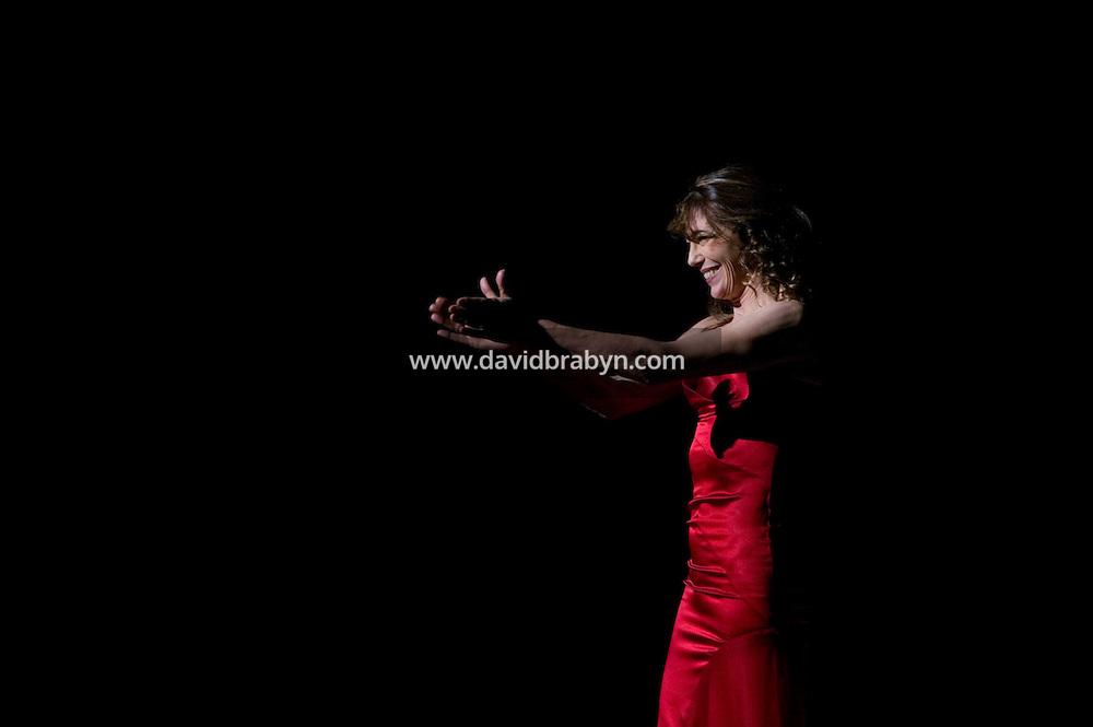 20 November 2004 - New York City, NY - English singer Jane Birkin performs in New York City, USA, 20 November 2004. Photo Credit: David Brabyn.