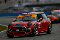 5-8 January, 2017, Daytona Beach, Florida USA<br /> 52, MINI, MINI JCW, ST, Derek Jones, Mike LaMarra, Mat Pombo<br /> &copy;2017, Jake Galstad<br /> LAT Photo USA