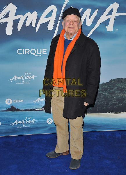 Sir David Jason at the &quot;Cirque du Soleil: Amaluna&quot; press night, Royal Albert Hall, Kensington Gore, London, England, UK, on Thursday 12 January 2017.  <br /> CAP/CAN<br /> &copy;CAN/Capital Pictures