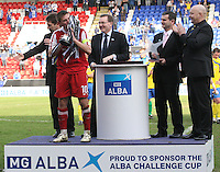 Alba Cup Final 2010/11 Queen of the South v Ross County