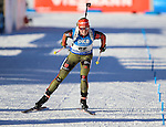 19/01/2017, Anterselva - Antholz - IBU Biathlon World Cup 2017 - Antholz -   Anterselva - Italy<br /> Franziska Hildebrand competes at the ladies individual race in Anterselva - Antholz, Italy on 19/01/2017.