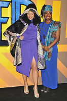 Kanya King and Dawn Butler Brent at the &quot;Black Panther&quot; European film premiere, Hammersmith Apollo (Eventim Apollo), Queen Caroline Street, London, England, UK, on Thursday 08 February 2018.<br /> CAP/CAN<br /> &copy;CAN/Capital Pictures