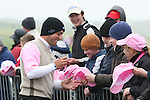 Molinari who was disqualified, signing hats on the second day (pink Day) of the 3 Irish Open in Baltray...Photo NEWSFILE/Jenny Matthews.(Photo credit should read Jenny Matthews/NEWSFILE)....This Picture has been sent you under the condtions enclosed by:.Newsfile Ltd..The Studio,.Millmount Abbey,.Drogheda,.Co Meath..Ireland..Tel: +353(0)41-9871240.Fax: +353(0)41-9871260.GSM: +353(0)86-2500958.email: pictures@newsfile.ie.www.newsfile.ie.FTP: 193.120.102.198.