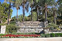 Kite Hill Monument Sign Laguna Niguel