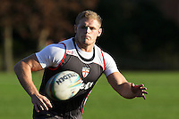 Picture by Alex Whitehead/SWpix.com - 30/10/2013 - Rugby League - Rugby League World Cup - England Training - Loughborough, England - Tom Burgess.