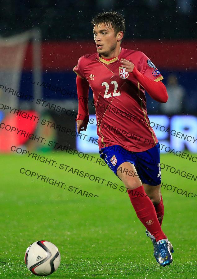 Fudbal, kvalifikacije za UEFA EURO 2016 qualifiers-Qualifying round - Group I<br /> Srbija v Portugal<br /> Adem Ljajic<br /> Beograd, 11.10.2015.<br /> foto: Srdjan Stevanovic/Starsportphoto &copy;