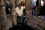 Annual Gypsies gathering on the feast day of  St Winefrides Shrine Holywell Flintshire Wales. 22 June  1980s St Winifred or Saint Winefride was a 7th-century Welsh Christian  woman, around whom many historical legends have formed. A healing spring at the traditional site of her death is now a shrine and pilgrimage site called St Winefrifdes Well,  known as the Lourdes of Wales.