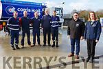 At Corrib Oil at Dromtacker<br /> Front l to r: David Field and Una Hayes.<br /> Back l to r: John O'Sullivan, Martin Horgan, Dermot McCarthy, Alan O'Halloran and Joe Watson.