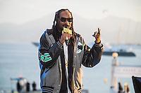 Snoop Dogg live  <br /> Festival del Cinema di Cannes 2015<br /> Foto Panoramic / Insidefoto