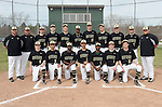 4-29-15, Huron High School varsity baseball team