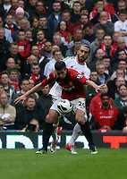 Pictured: (F-B) Robin van Persie, Chico Flores.<br />
