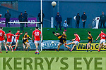 David Clifford, East Kerry scores his side's first goal during the Kerry County Senior Club Football Championship Final match between East Kerry and Dr. Crokes at Austin Stack Park in Tralee, Kerry.