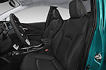 Front seat view of 2017 Toyota PRIUS PRIME Four 5 Door Hatchback front seat car photos