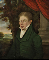 BNPS.co.uk (01202) 558833<br /> Picture: Bonhams<br /> <br /> W. F. M Copeland, one of the previous residents of Trelissick House, 1830<br /> <br /> It is the ultimate garden sale -- The aristocrat Cunliffe-Copeland family are auctioning off millions of pounds of antiques in a unique sale of the entire contents of their stately home Trelissick House near Truro in Cornwall. For generations the family have filled the magnificent The 18th century manor with treasures acquired from travels around the globe.<br /> <br /> 58 years ago the house was left to the National Trust on the condition members of the family could carry on living in the property. But the current incumbent, William Copeland and wife Jennifer, have decided to buy a normal-sized family home and are unable to take the hundreds of heirlooms with them. So they are holding a two-day sale of ancient ornaments, paintings, furniture, jewellery, silverware, books, rugs and wine in the grounds of Trelissick House, near Truro, later this month, and hope to raise &pound;3million