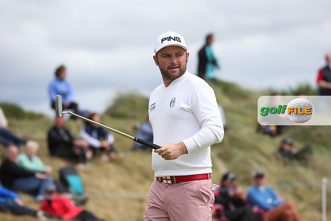 Andy Sullivan (ENG) during Round Two of the 2016 Aberdeen Asset Management Scottish Open, played at Castle Stuart Golf Club, Inverness, Scotland. 08/07/2016. Picture: David Lloyd | Golffile.<br /> <br /> All photos usage must carry mandatory copyright credit (&copy; Golffile | David Lloyd)