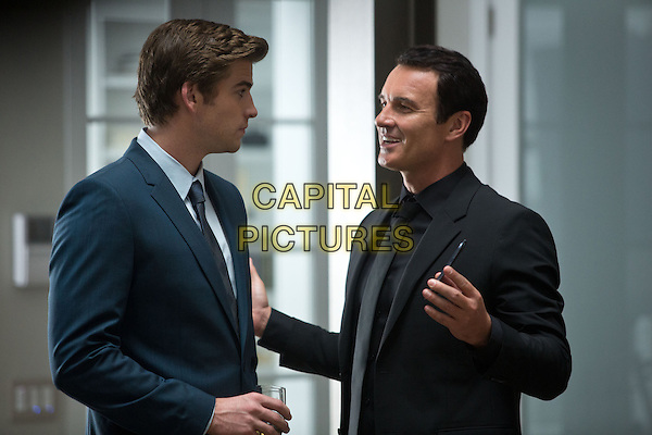 Liam Hemsworth &amp; Julian McMahon <br /> in Paranoia (2013) <br /> *Filmstill - Editorial Use Only*<br /> CAP/FB<br /> Image supplied by Capital Pictures