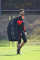 Torwart Kevin Trapp (Eintracht Frankfurt) - 05.09.2018: Eintracht Frankfurt Training, Commerzbank Arena, DISCLAIMER: DFL regulations prohibit any use of photographs as image sequences and/or quasi-video.