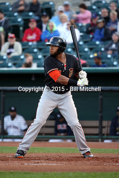Jon Singleton -2015 Fresno Grizzlies (Bill Mitchell)