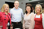 Elizabeth McSorley, Aidan Hoey, Louise McHugh and Bernadette Mullen at the Official Opening of Coca Cola Global Business Services Finance Operation for Europe and Eurasia in Southgate Shopping Centre 28/10/11..(Photo credit should read Jenny Matthews www.newsfile.ie)....This Picture has been sent you under the conditions enclosed by:.Newsfile Ltd..The Studio,.Millmount Abbey,.Drogheda,.Co Meath..Ireland..Tel: +353(0)41-9871240.Fax: +353(0)41-9871260.GSM: +353(0)86-2500958.email: pictures@newsfile.ie.www.newsfile.ie.