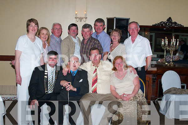 HOMECOMING: Enjoying Senator Ned OSullivans homecoming party in The Listowel Arms Hotel on Friday night, front from left, Cllr Pat Loughnane (Mayor of Listowel), Jimmy Loughnane, Senator Ned OSullivan and Mary OConnor, Asdee. Back from left, Teresa Gilbert, Lixnaw, Mary OMahoney, Lixnaw, Michael OConnor, Asdee, Tom Enright, Listowel, John OMahoney, Lixnaw, John Gilbert, Lixnaw, Norma Harrington, Listowel, and John McAuliffe, Listowel..
