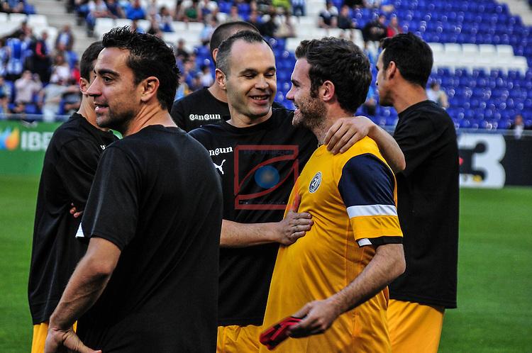 Andres -iniesta, Xavi Hernandez - Dani Jarque's tribute game (21) Organized by Andres Iniesta and RCD espanyol