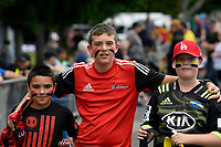 Fans during the Super Rugby Preseason - Hurricanes v Crusaders at Levin Domain, Levin, New Zealand on Saturday 2 February 2019. <br /> Photo by Masanori Udagawa. <br /> www.photowellington.photoshelter.com