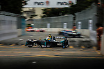 Nelson Piquet Jr of Nextev Nio team during the first race of the FIA Formula E Championship 2016-17 season HKT Hong Kong ePrix at the Central Harbourfront Circuit on 9 October 2016, in Hong Kong, China. Photo by Victor Fraile / Power Sport Images